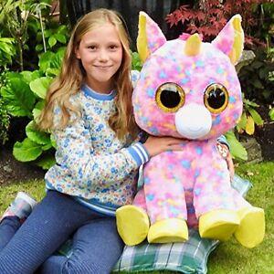TY Beanie Boos Extra Large 26in (66cms) - Fantasia the XL Unicorn Multicoloured
