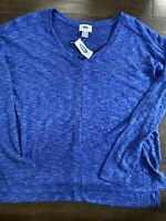 OLD NAVY WOMENS TOPS SIZE XS TP Cobalt Blue NWT