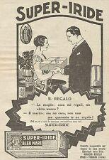 W6947 Super-Iride Bleu Mare - Il regalo - Pubblicità 1925 - Advertising