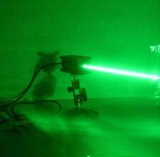 focusable 515nm 520nm 1000mw green laser module / bracket / PSU / heatsink good