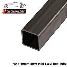 Mild Steel ERW Box 40mm x 40mm x 1.5mm, 1000mm Long, Square Tube