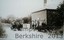 PRINT 10 X 7  THE STOCKS - BEENHAM BERKSHIRE C1908