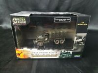 RARE Forces of Valor 1:72 &U.S 2.5 Ton Cargo  Truck(Normandy 1944)85055 Die Cast