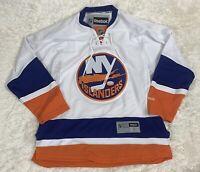 Reebok NHL3 New York Islanders Premier White Away Jersey Men's Size Small 7185A