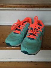Kangaroo Blue Pink Sneakers Shoes US 4 EUR 36 Kids Vacation Running VG