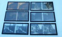Six plaques verre 6 X 13 stéréoscopique Dijon années 1920
