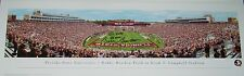 Bobby Bowden Signed Auto Florida State 13x40 Photo w/411 Wins & Go Noles - Proof