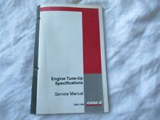 CASEIH Farmall A B C 100 130 MD 504 660 706 engine tune up specification manual