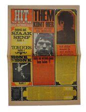 HITWEEK Magazine 2 March 1967 Bob Dylan Them/Van Morrison Jefferson Airplane