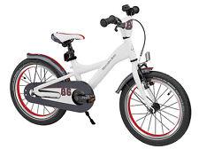 MERCEDES-BENZ Kids Bike Bicicletta per bambini 40cm (16 pollici) in bianco con pneumatici palloncino