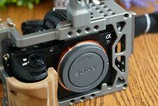 Sony Alpha a7R II 42.4MP Digital Camera - Black (Body Only) w/Zeus Cage & Handle