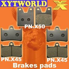 FRONT REAR Brake Pads for Yamaha YZF R1 R Thunderace 1998-2001