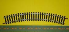 Voie JOUEF HO - Rail Courbe - Ref 4870 - R 385 mm - 30° - TBE