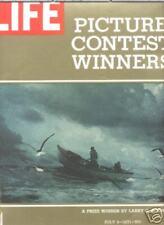 Life Mag July 9 1971 Men Fishing At Sea Painting  Cover
