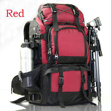 Hot Large Waterproof Camera Backpack DSLR Canon  17'' Laptop For Nikon Sony Bag