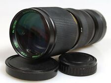 85-210MM F3.8 LENS FOR PENTAX W/ FRONT   REAR LENS CAPS