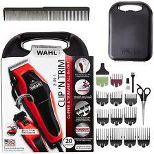 Wahl Professional Hair Cut Trimmer 20 Pcs Set Shaving Machine Clipper Barber New
