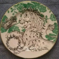 Lion Decorative Plate Made In Indonesia collector plate