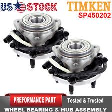 TIMKEN 2 Front Wheel Hub Bearing Assembly for Ford Ranger Mazda Mercury 5Lug 4WD