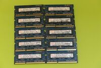 Hynix 1GB x10 DDR3 PC3-10600S 1333 HMT112S6BFR6C-H9 SO-DIMM Laptop RAM Job Lot