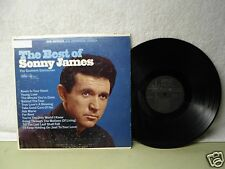 Sonny James LP The Best Of Sonny James Clean 1966 Country Pop Orig! Young Love