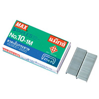 1 X Flat Clinch Staples Mini Box of 1000 by MAX No.10 Office & School Supplies