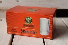 6x Jägermeister Shot Glas Gläser Panchen Stamper 0,02l in Geschenkpackung