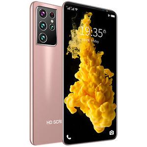 Cheapest S21U Smartphone 24MP+48MP Camera 8GB+128GB 5.5in 4800mAh Cell Phone PI