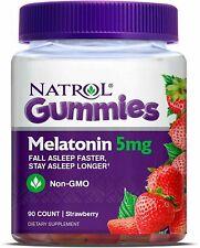 Natrol Melatonin 5Mg Gummy, 90 Count Sleeping Aid