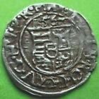 Silver Denar Ferdinand I. Hungary Coin 1562 Very Rare Scarce Fine Medieval