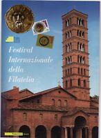 ITALIA - FOLDER 2008 - FESTIVAL INTERNAZIONALE DELLA FILATELIA FACCIALE € 20,00