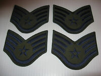 Lot of 4 / Four Brand New ~ US AIR FORCE SSGT LG Patches Patch - Free Ship