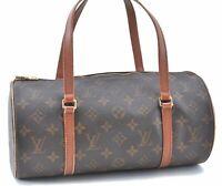 Authentic Louis Vuitton Monogram Papillon 30 Hand Bag Old Model M51365 LV B8042