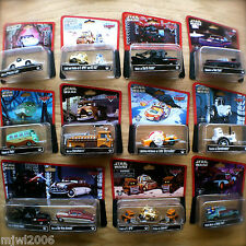 Disney PIXAR Cars STAR WARS COMPLETE SET ALL Theme Parks lot diecast 2013-2015