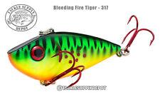 Strike King Red Eye Shad 1/2oz - Bleeding Fire Tiger