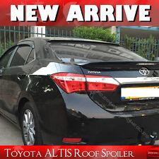 Unpainted FOR TOYOTA Corolla ALTIS Rear Roof Spoiler Wing 2014+ 4DR Sedan EUR§