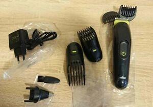 Braun Mgk 3221 Multi-Grooming Kit 6-in-1, Battery Razor, Hair And Beard Trimmer