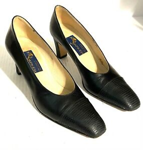 Joel Parker Women's Size 7.5 AAA Leather Pumps Shoes Heels Made In Italy