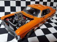 "1968 ""1320 Drag Kings"" 1:18th Orange Chevrolet Nova by GMP Models"