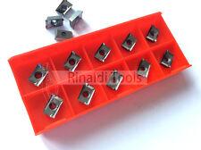 10 x Wendeplatten APKT 1003-AL RT10 (K10) polierte Spanfläche NEU! Mit Rechnung!