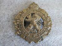 WWI 43rd CAMERON HIGHLANDERS OF CANADA WINNIPEG ORIGINAL CAP BADGE SPORRAN CEF