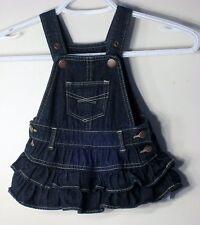 babyGAP Size 3-6 Months Dark Blue Denim Jumper Dress