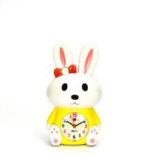 Adorable Sleepy Bunny Kids Musical Alarm Clock - Fun Children Room Decoration