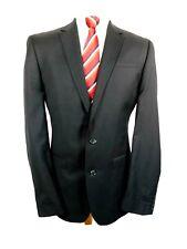 "Next Mens Formal suit Jacket Ch40""L Black wool Blend"