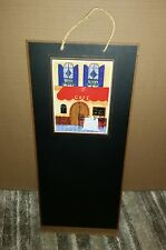 "French Inspired Cafe Design Kitchen Decor CHALKBOARD MESSAGE BOARD 24"" x 10.5"""