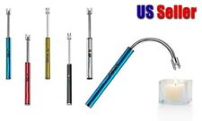 Electric Charge Arc Lighter Plasma Windproof BBQ Candles Outdoor Rechargeable