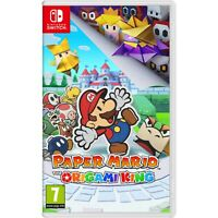 Nintendo Switch Paper Mario: The Origami King Video Game - Import Region Free
