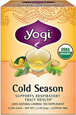 Cold Season Tea, Yogi Tea, 16 tea bag 1 pack