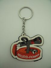 Porte-Clés Key Ring Sapeurs Pompiers Volontaires French Firemen TOP !