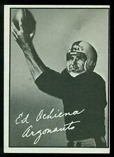 1961 TOPPS CFL FOOTBALL #12 ED OCHIENA EX-NM RC TORONTO ARGONAUTS rookie card